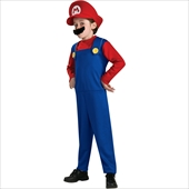 Super Mario Bros. - Mario Toddler/Child Costume
