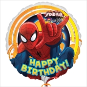 "Spider-Man Happy Birthday 18"" Foil Balloon"