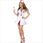 Say Ahhh! Sexy Nurse Adult Costume
