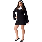 Naughty and Nice Nun Adult plus Costume