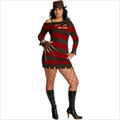 A Nightmare On Elm Street - Miss Krueger Adult plus Costume