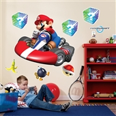 Mario Kart Wii Giant Wall Decals |191951