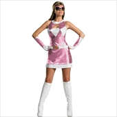 Mighty Morphin Power Rangers - Pink Ranger Sassy Deluxe Adult Costume