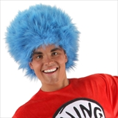 Dr. Seuss The Cat in the Hat - Thing 1 and Thing 2 Wig (Adult)