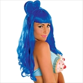 Katy Perry - California Gurl Blue Wig (Adult)