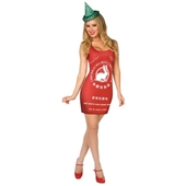 Chinese Hot Sauce Adult Costume | 213245