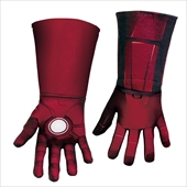 The Avengers Iron Man Mark VII Deluxe Child Gloves