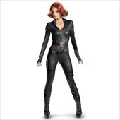 The Avengers Black Widow Elite Adult Costume