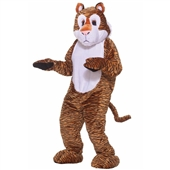 Tiger Deluxe Mascot Adult Costume | 214479