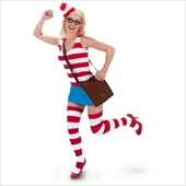 Waldo Sexy Dress Adult Costume