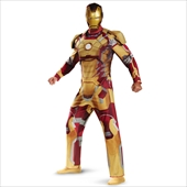 Iron Man 3 Mark 42 Deluxe plus Adult Costume