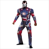 Iron Man 3 Patriot Deluxe Adult Costume