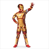Iron Man 3 Mark 42 Muscle Light Up Kids Costume