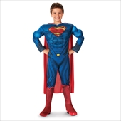 Superman-Man of Steel-Superman Deluxe Toddler/Child Costume