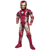 Avengers 2 Deluxe Iron Man Mark 43 Child Costume | 241633