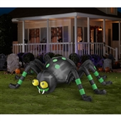 Spider with Green Stripe Animated Airblown | 241882