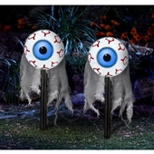 Lighted Moving Eyes Pathway Markers (2) | 241903