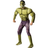 Avengers 2 - Age of Ultron: Deluxe Hulk Adult Costume | 242745