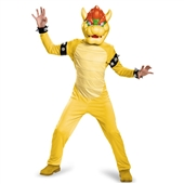 Super Mario Bros: Bowser Deluxe Child Costume | 243780
