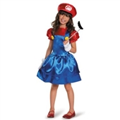 Super Mario Bros: Mario w/Skirt Child Costume | 243785