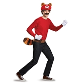 Super Mario Brothers Mario Raccoon Adult Kit | 245137