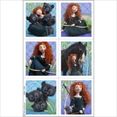 Disney Brave Sticker Sheets