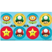 Super Mario Party Small Lollipop Sticker Sheet | 230943
