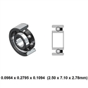 Dental Highspeed Contra Angle Bearing - 9A0010-801 - For KaVo COMFORTdrive 200XDR