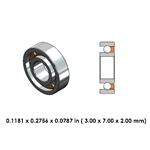 Highspeed Bearing - 9A0156-830