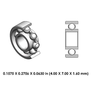 Dental Contra Angle  Steel Bearing - 9A0176-000