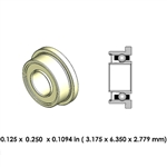 Dental Highspeed Ceramic Bearing - DA01B2L-801 - For Midwest