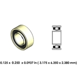 Dental Highspeed Ceramic Bearing - DA02A2L-801