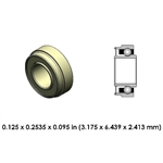 Dental Highspeed Ceramic Bearing - DA22J2L-801- For KaVo
