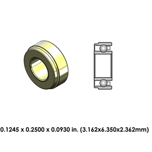 Dental Highspeed Ceramic Bearing - DA39Z4G-801