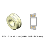 Dental Highspeed Ceramic Bearing - DA47Z4G-801 -  for Midwest