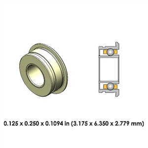 Dental Highspeed Ceramic Bearing  - DA54Z4GM2-801 - For Star