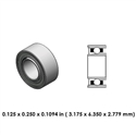 Dental Highspeed bearing - DA55B2G - For W&H
