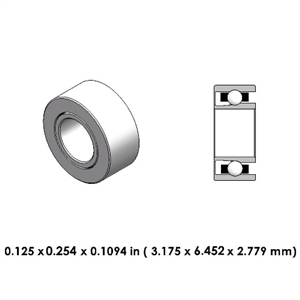 Dental Highspeed Bearing - DA55Z2G-1 - For Sirona
