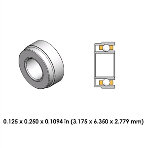 Dental Highspeed Bearing - DA70Z4GM2