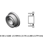 Dental Highspeed Bearing - DR01A2L - For Impact Air 45