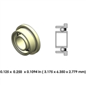 Dental Highspeed Bearing - DR01A2L-801 - For Impact Air 45