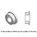 Dental Highspeed Bearing - DR01B1L - For Midwest, NSK, Kinetic Instruments