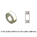 Dental Highspeed Ceramic Bearing - DR02B1L-801