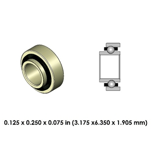 Highspeed Contra Angle Bearing - DR02J2L-801 - For Kavo and Other Brands