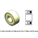 Dental Highspeed Ceramic Bearing - DR09B2L-801 - For Bien Air