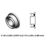 Dental Highspeed Bearing - DR13A2L-805 - NSK and Midwest