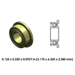 Dental Highspeed Ceramic Bearing - DR13B1L-801