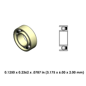 Highspeed Contra Angle Bearing - DR14A2L-801 - For Sirona and Other