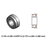 Dental Highspeed Bearing - DR21B1L - For Dabi Atlante