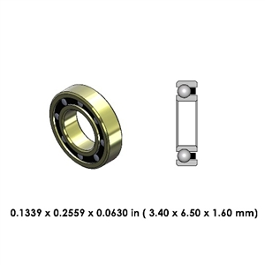 Highspeed Contra Angle Bearing - DR29A2L-801 - for W&H